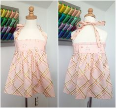 Baby Doll Twirl Top Tutorial from Violette Field Threads