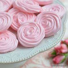 A raspberry rose meringue by any other name would taste just as sweet! Recipe and gift wrapping ideas.