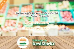 Buy Online Indian Grocery of best quality in Switzerland. You can shop from an extensive range of Groceries online at Desimarkt for reasonable prices. Kindly Visit www.desimarkt.ch