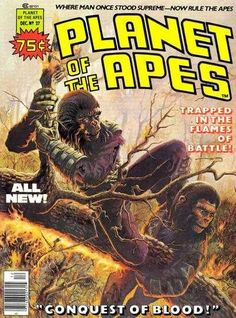 Planet of the Apes 27, December 1976