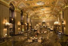 Palmer House in Chicago!  Can't wait!