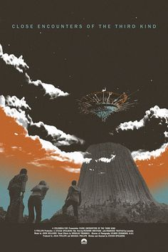 Close Encounters of the Third Kind alternative movie poster