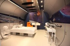 Making home a haven for sci-fi buffs--Contemporary Kids by Bayless Custom Homes Inc.