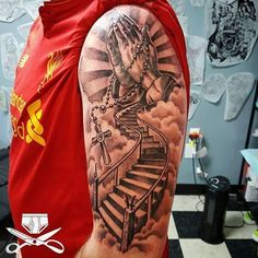 10 Best Stairs To Heaven Tattoo Images Heaven Tattoos Stairs To Heaven Tattoo Stairway To Heaven Tattoo