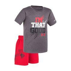 "Baby Boy Under Armour ""I'm That Good"" Tee & Shorts Set"