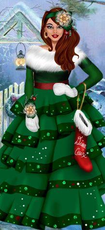 Dress Up Games | Diva #Christmas