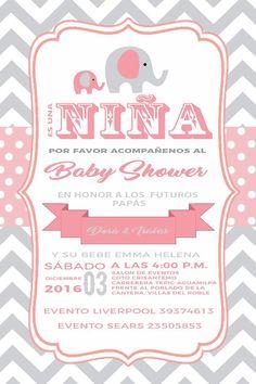 Spanish Royal Princess Baby Shower Invitation Girl Pink And