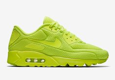 low priced 811a6 f3b21 New NIKE AIR MAX 90 ULTRA BREATHE MEN S SHOES VOLT VOLT 725222-700 sz 14