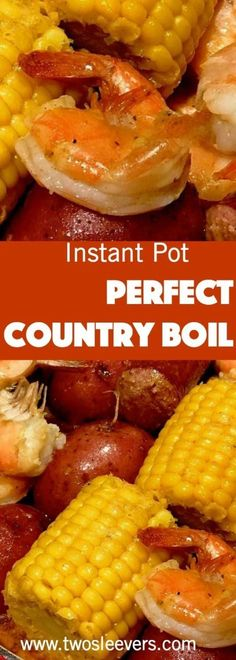 This is the best way I've found to make a Cajun Shrimp and Sausage boil in the Instant Pot. We love going out to places like the Boiling Crab that do crab, sausage, shrimp, corn and potatoes in a bag.