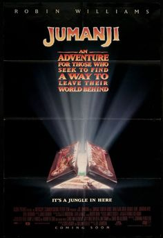Jumanji (1995) ~ welcome to my nightmare #inverse