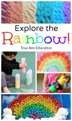 Exploring the Rainbow with lots of crafts and activities!