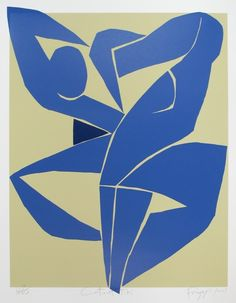 Dick Frizzell, Cut Out Tiki, screenprint on 890 x 745 mm paper, from an edition of Canterbury School, Art World, Picasso, Printmaking, Paper Art, Screen Printing, Pop Culture, Moose Art, It Works