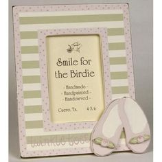 Twinkle Toes Picture Frame