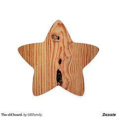 The old board. star sticker