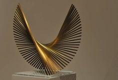 super-arte-diario: ANDREU ALFARO. IN MEMORIAM Sculpture Metal, Geometric Sculpture, Abstract Sculpture, Organic Art, Math Art, Metal Artwork, Oeuvre D'art, Installation Art, Les Oeuvres