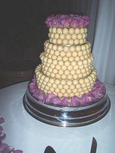 My very first wedding cake... Lindt Truffles @Lindt_Chocolate #LindtTruffles @Influenster #Rosevoxbox