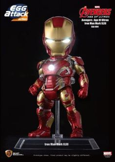 Beast Kingdom Toys is proud to present the Egg Attack Action Iron Man Mark 43...