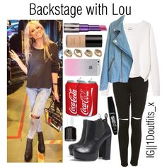 Backstage with Lou