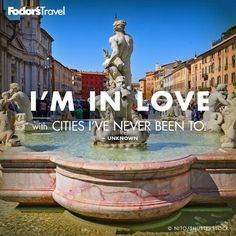 What city are you in love with? treasur quot, inspir, place, citi, travel quotes