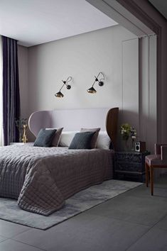 The color gray lends a certain sophistication to a space, no matter the design style. It also infuses interiors with a sense of serenity, which is key when it comes to creating a relaxing bedroom.