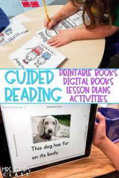 You will love using these guided reading books in your classroom! Have fun teaching guided reading lessons with planned activities and resources including running records, word work, and guided writing. #guidedreading #leveledtext #digitalbooks #guidingreaders