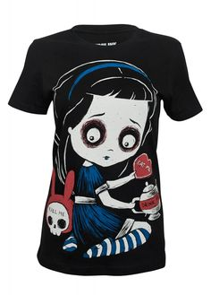 d9ddb142b7a1 Akumu Ink Temptation Of Alice T-Shirt