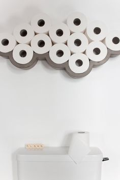 Our concrete Cloud Toilet Paper Shelf by French label Lyon Beton will bring a little fun and humour to your bathroom. Buy at Lime Lace for fast free delivery More bathroom Cloud Toilet Paper Holder, Toilet Roll Holder, Toilet Paper Storage, Family Bathroom, Downstairs Bathroom, Beige Bathroom, Small Wc Ideas Downstairs Loo, Small Bathroom Ideas, Quirky Bathroom