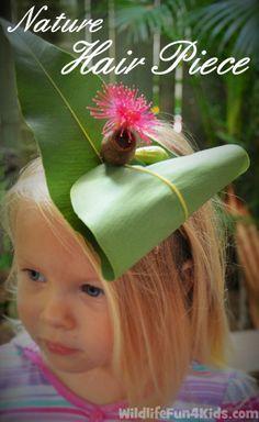 Easy Nature Hair Piece   Wildlife Fun 4 Kids