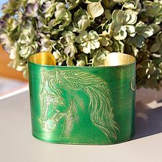 HORSE Bracelet Etched Brass Cuff by Joann Hayssen Designs -  $45.00 and 25% will be donated to Rosemary Farm horse sanctuary through the end of 2014! https://www.etsy.com/listing/212882227/horse-bracelet-etched-brass-cuff-follow?ref=shop_home_feat_1