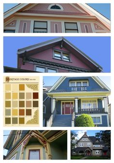 Accentuate details on heritage homes with #paint #colour.