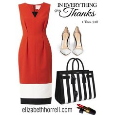 LIZ by elizabethhorrell on Polyvore featuring Roksanda, Gianvito Rossi, Yves Saint Laurent and Chanel