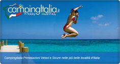Book your Camping Holiday or City Break in Italy Online or by Telephone! See our website www.campingitalia.it