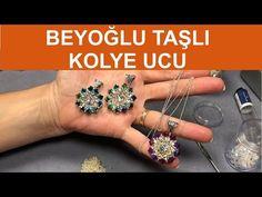 Beyoğlu taşlı kolye ucu - Nazo takı tasarım eğitimleri - YouTube