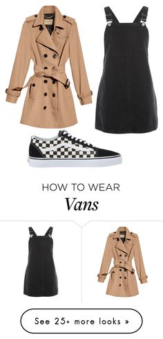 """""""Paries"""" by giovannam-m on Polyvore featuring Burberry, Topshop and Vans"""