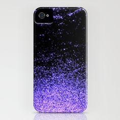 infinity in purple iPhone Case
