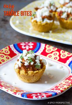 "Zesty ""Cheater"" Tamale Bites Recipe on ASpicyPerspective.com"