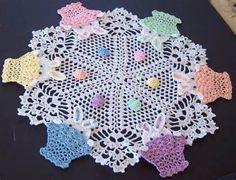 Easter Crochet Doily
