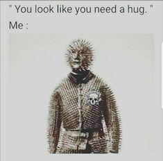 Me with hugs