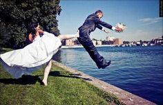 Νευρικη νυφη.