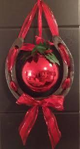 Resultado de imagen de herraduras decoradas navidad