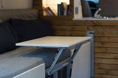 VW T5 Campingbus Innenausbau Tisch