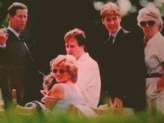 Prince Charles, Princess Diana and Prince William, 1997