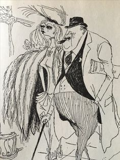 This is from Looking at London which Searle illustrated .his wife, Kaye Webb supplying the text. Quentin Blake, Character Design Animation, Character Art, Character Illustration, Graphic Illustration, Ronald Searle, Retro, Tinta China, Artist Gallery