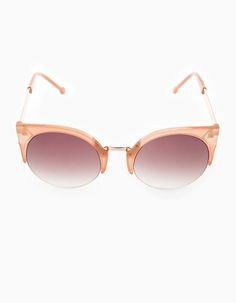 Gafas redondas cat eye