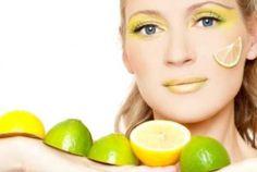 yağlı ciltler için limon maskesi