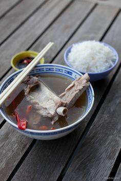 Singapore Bak Kut Teh Recipe (肉骨茶)  - Let's Get Fat Together