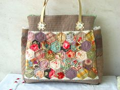 Grandmother's garden collection by STORY QUILT, via Flickr
