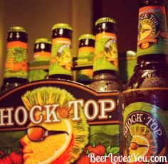 Happy Friday Beer Lovers! What better to quench your thirst than the taste of fall? #TGIF #BeerLovesYou #ShockTop