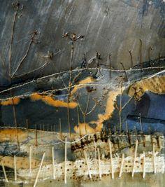 Autumn Textures Series   by Louise O'Hara of DrawntoStitch www.drawntostitch.com