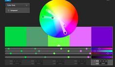 Colour Inspiration, Mood, Purple, Green
